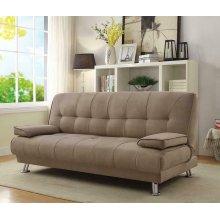 Casual Tan Sofa Bed
