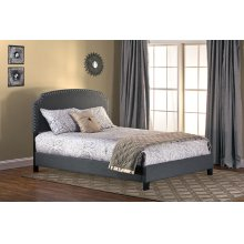 Lani Queen Bed - Dark Grey