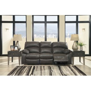 Dunwell Power Reclining Sofa w/ Adjustable Headrests
