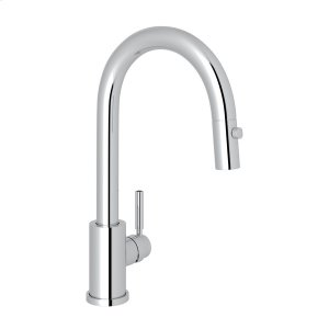 Polished Chrome Perrin & Rowe Holborn Pull-Down Bar/Food Prep Faucet Product Image