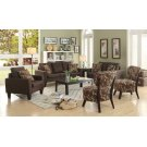 Bachman Transitional Grey Three-piece Living Room Set Product Image