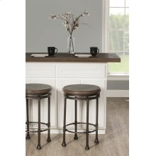 Casselberry Backless Round Swivel Counter Stool