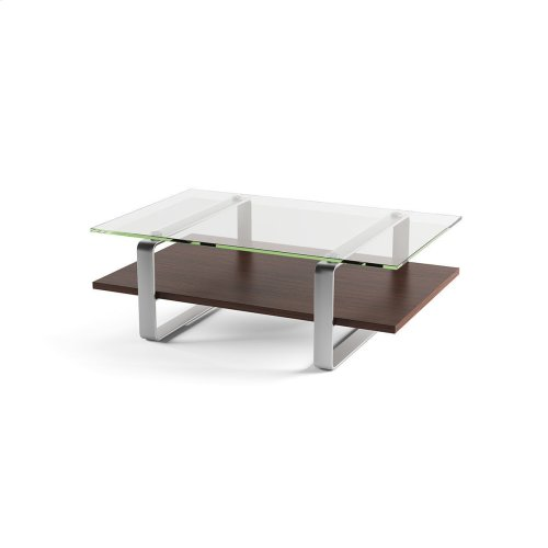 Coffee Table 1642 in Chocolate Stained Walnut