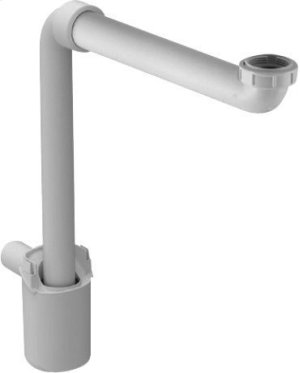 Space-saving Siphon, Whitewhite Product Image