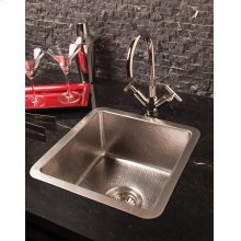 Stainless Bar Sink Brushed Stainless Steel