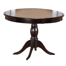"Bayberry 44"" Round Pedestal Dining Table - Ctn A - Top Only - Dark Cherry"