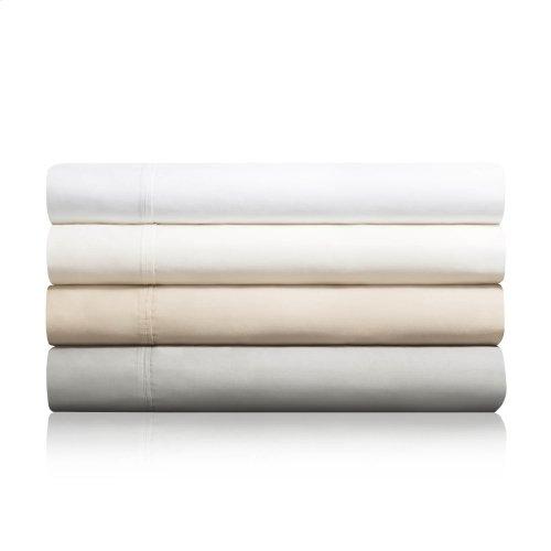 600 TC Cotton Blend Queen Pillowcase Ivory