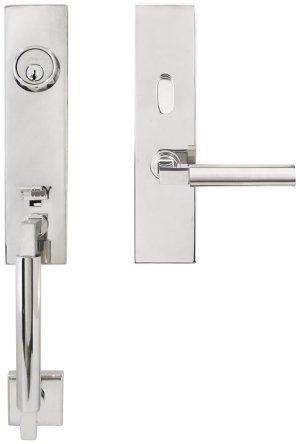 """NY Handleset Tubular Aurora Entry 2-3/8"""" 32 LH Product Image"""