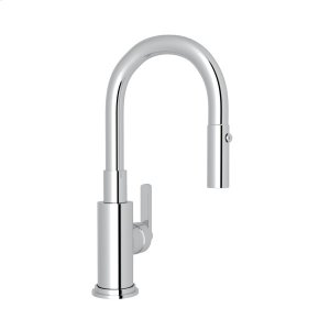 Polished Chrome Lombardia Pull-Down Bar/Food Prep Faucet Product Image
