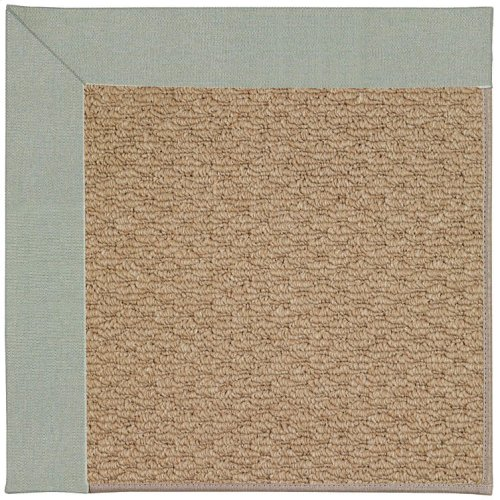Creative Concepts-Raffia Canvas Spa Blue Machine Tufted Rugs