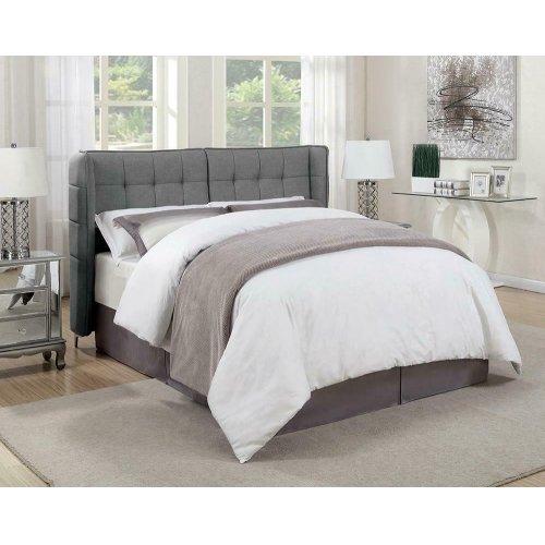 Goleta Grey Upholstered King Bed