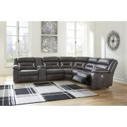 Kincord - Midnight 3 Piece Sectional Product Image