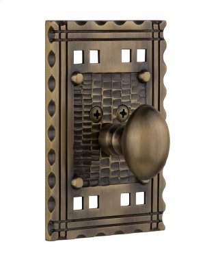 Nostalgic - Single Cylinder Deadbolt Keyed Differently - Craftsman in Antique Brass Product Image
