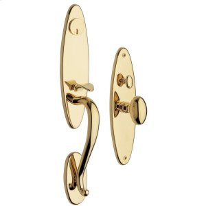 Lifetime Polished Brass Springfield Entrance Trim Product Image