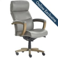 Greyson Executive Office Chair, Grey