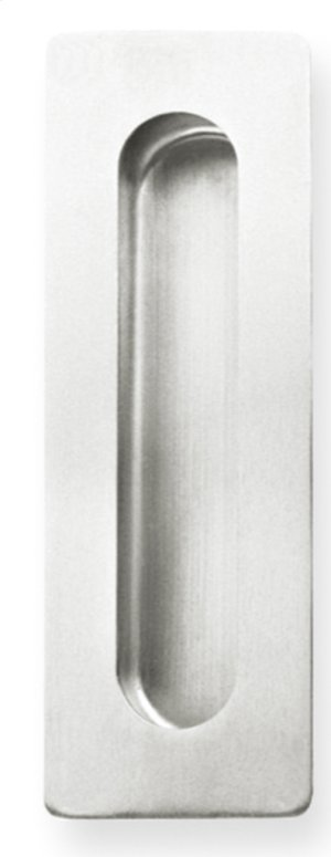 Rectangular Pocket/Cup Pull w/Oblong Opening, US32D Product Image