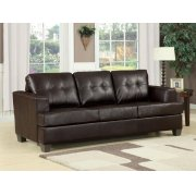 BROWN BND L. SOFA W/Q. SLEEPER Product Image