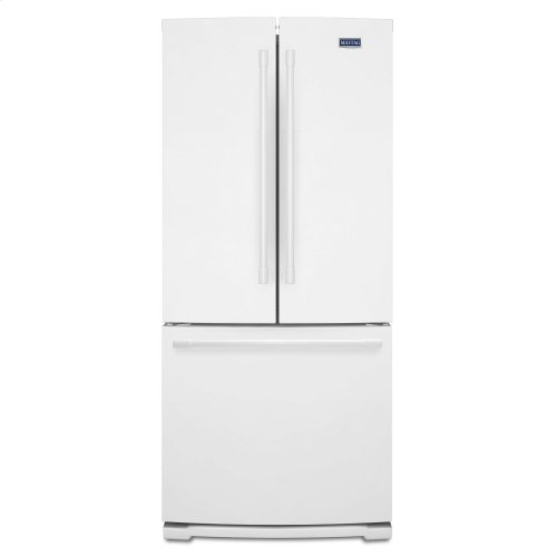 30-Inch Wide French Door Refrigerator - 20 Cu. Ft. White