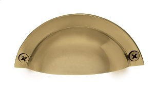Nostalgic Warehouse - Brass Bin Pull in Polished Brass Product Image