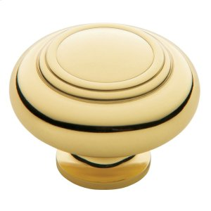 Polished Brass Ring Deco Knob Product Image