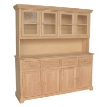 H-4B 4 Door Hutch (shown w/B-4 which is sold separately)
