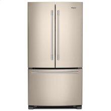 36-inch Wide French Door Refrigerator with Crisper Drawer - 25 cu. ft. Fingerprint Resistant Sunset Bronze