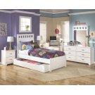 Lulu - White 3 Piece Bed Set (Twin) Product Image
