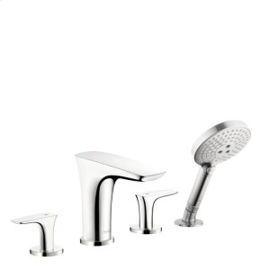 Chrome 4-Hole Roman Tub Set Trim with 1.75 GPM Handshower Product Image