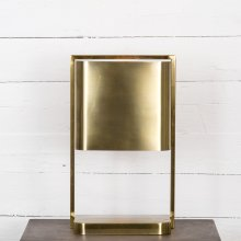 Antique Brass Finish Stratton Desk Lamp