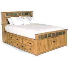 Queen Bed w/ Storage