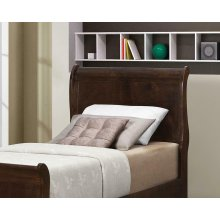 Louis Philippe Traditional Cappuccino Twin Headboard