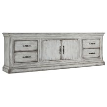 Living Room Two-Door Four-Drawer Credenza