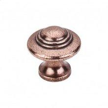Ascot Knob 1 1/4 Inch - Old English Copper