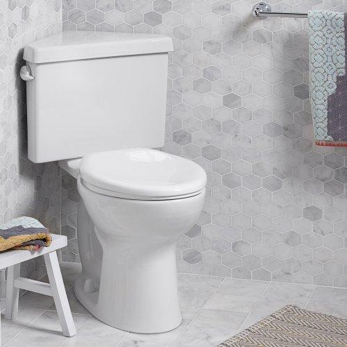 Cadet PRO Round Corner Toilet - 1.28 GPF - White