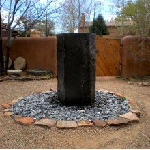 Basalt Column Fountain, 60 in