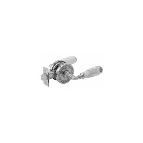 WHITE MARBLE Door Knob 5150 - French Brass