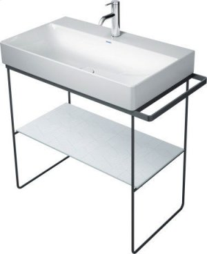 Durasquare Metal Console Floorstanding Chrome Product Image
