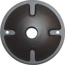 1-Light Mounting Plate - Dark Gray Finish