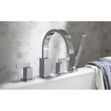 Times Square Deck Mount Tub Filler with Hand Shower  American Standard - Polished Chrome