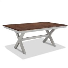Small Space 42 x 72 Trestle Dining Table