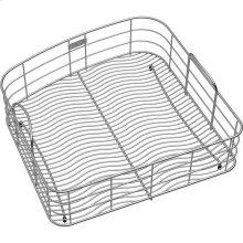 """Elkay Stainless Steel 17"""" x 17-1/2"""" x 7"""" Rinsing Basket"""