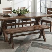 Alston Rustic Knotty Nutmeg Bench Product Image