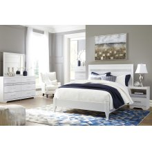 Jallory - White 4 Piece Bedroom Set