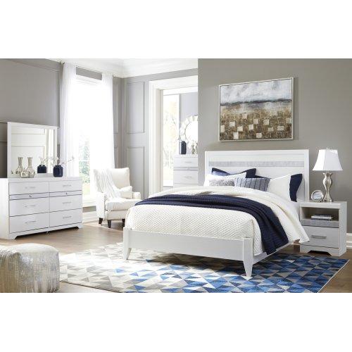Jallory - White 2 Piece Bedroom Set