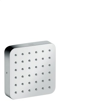 Brushed Bronze Shower module 120/120 for concealed installation softcube Product Image