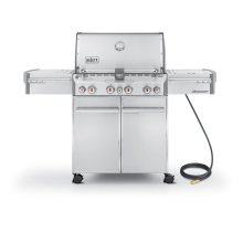 SUMMIT® S-470™ NATURAL GAS GRILL - STAINLESS STEEL