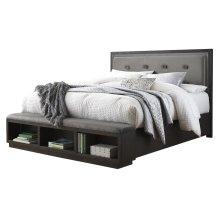 Hyndell - Dark Brown 2 Piece Bed Set (Cal King)