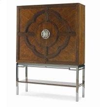 Chin Hua Lotus Bar Cabinet