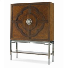 Chin Hua Lotus Bar Cabinet
