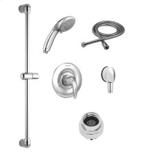 Commercial Shower System Kit with Hand Shower for Flash Rough Valve - 2.5 GPM  American Standard - Polished Chrome